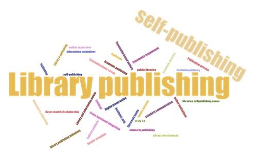 Nube de etiquetas de las palabras clave de los  trabajos analizados en la SLR