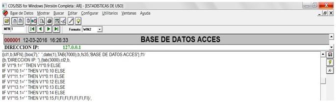 Segmento  de dirección IP.